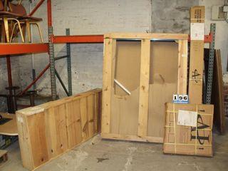 Custom 1100 Series Alum  Slid  Doors  For Walk In