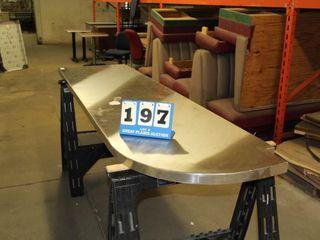 Stainless Steel Custom Countertop
