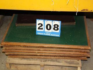 8ea  48  X 48  Table Tops