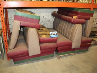 Set of Booth Seats for 3 Tables
