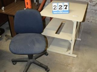 Office Chair   Computer Table