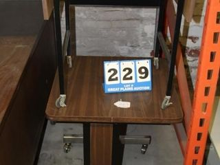2ea  Rolling Tables