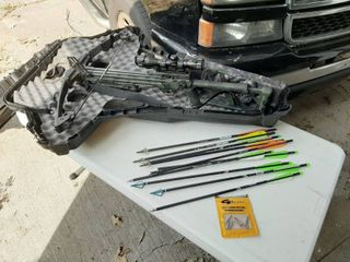 Horton Supermag Crossbow with Arrows and Case