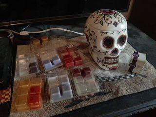 Scentsy Skull Wax Warmer