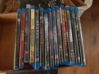 12 Bluray Movies