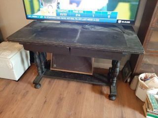 Vintage Table with 2 Drawers