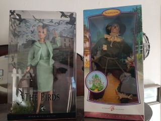2 Barbies   The Wizard of Oz  and The Birds