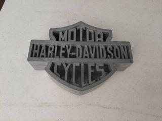 Metal Harley Davidson Storage Box