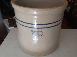 10 Gal Crock   Marshall Pottery Co