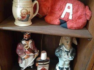 Assorted Bottles  Mug and Razorback