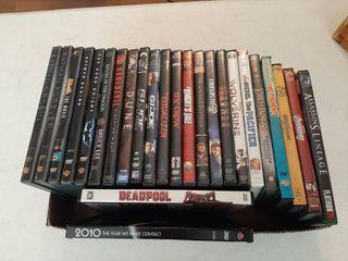 Assorted DVDs   Batman