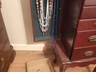Assorted Necklaces and Jewelry