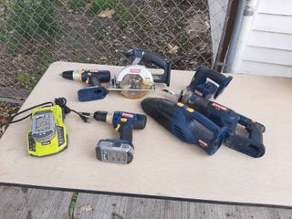 Ryobi Cordless Tool Set   1 Battery did not hold a charge
