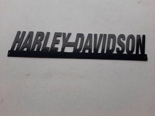 Harley Davidson Metal Cutout Sign