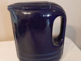 Blue Pitcher for Westinghouse by Hall