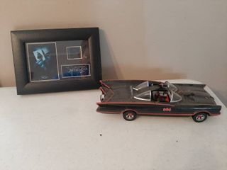 Batmobile and The Dark Knight Film Cell