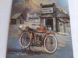 Indian Motorcycle Tin Sign