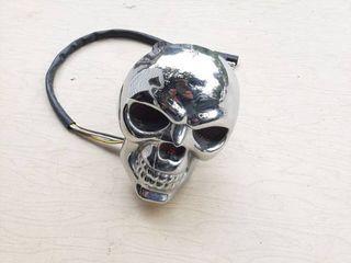 lighted Skull Receiver Plug