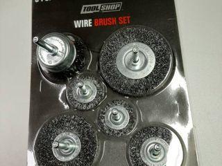 6 Piece Wire Brush Set