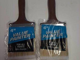 2  Value Painter 4  Polyester Paint Brush