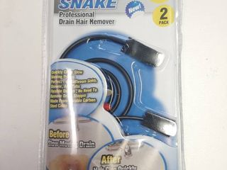 Wonder Snake Drain Hair Remover Professional 2 Pack Durable Carbon Steel Cable