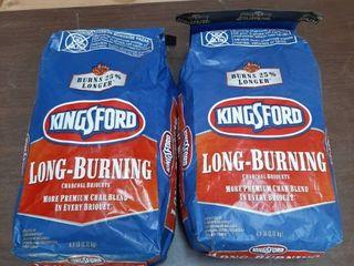 2  6lb Bags of Kingsford Charcoal