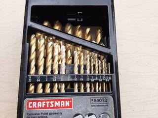 Craftsman Drill Bit Index   1 Missing