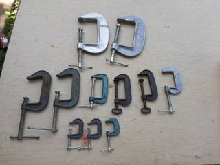 Assorted C Clamps