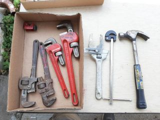 Assorted Tools   Pipe Wrenches