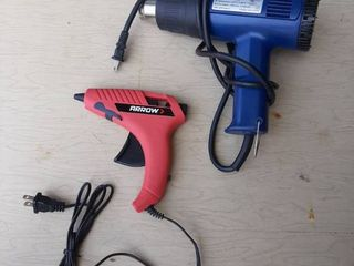 Heat Gun and Hot Glue Gun