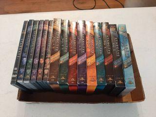 Stargate SG1 DVDs