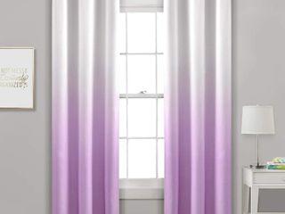 Porch   Den Millbrook Ombre Blackout Grommet Top Curtain Panel Pair