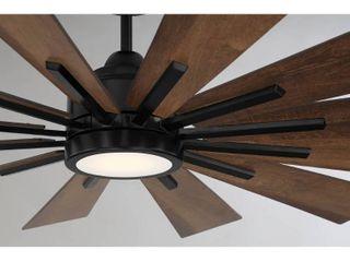 Savoy House Farmhouse 60  Antique Oak Ceiling Fan
