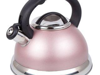Creative Home Alexa 3 Qt  Whistling Tea Kettle