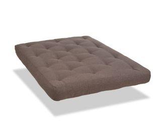 Serta Bralee 8  Cotton and CertiPUR Futon Mattress