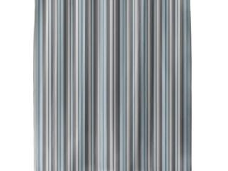 PARISIENNE STRIPE MINT Shower Curtain By Kavka Designs  Retail 78 98