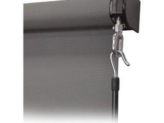 Premium cordless outdoor sunshade