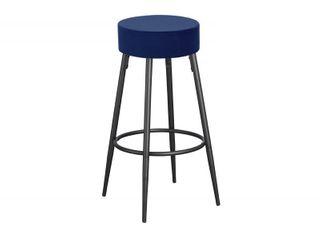 Best Master Furniture Blue Bar Stools