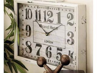 Decmode Metal Wall Clock  Multi Color