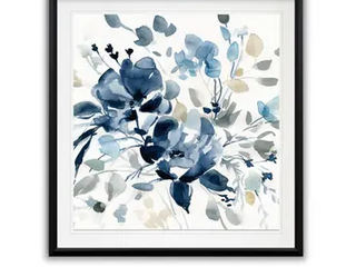 Indigo Garden I  Framed Giclee Print