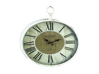 The Gray Barn Jartop Metal 16 inch x 18 inch Wall Clock