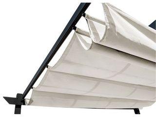 AlEKO Pergola Canopy Fabric Replacement   9 x 9 Feet   White