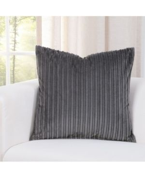 SIScovers Downy Storm Grey Accent Throw Pillow