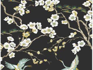 Japanese Black Wallpaper
