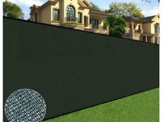 Orion 6  x 50  Privacy Screen Fence  Black