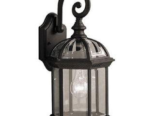 Adalyn 1 light Exterior light in Black Finish
