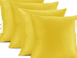 Porch   Den Cosner Solid Color Microfiber Velvet Throw Pillow Cover