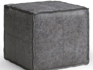 WYNDENHAll Wendal Transitional Square Pouf  Retail 131 49
