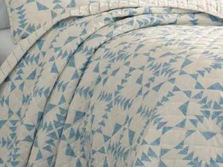 Eddie Bauer Arrowhead Blue Queen Quilt Set