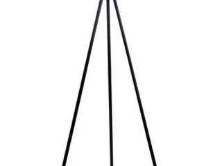 Carson Carrington Vinderup Black 61 25 inch 3 way Tripod Floor lamp with linen Shade